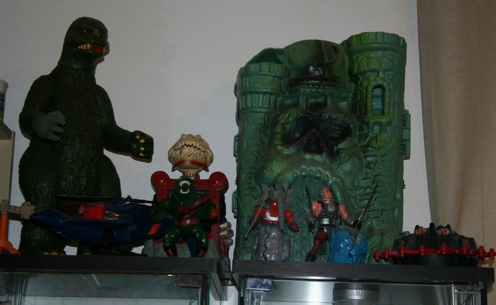 M.A.S.K. Switchblade  - Godzilla Jumbo - Slime Pit - Greyskull Castle - Blade - Snout Spout - Rokkon & Stonedar  -  Roton
