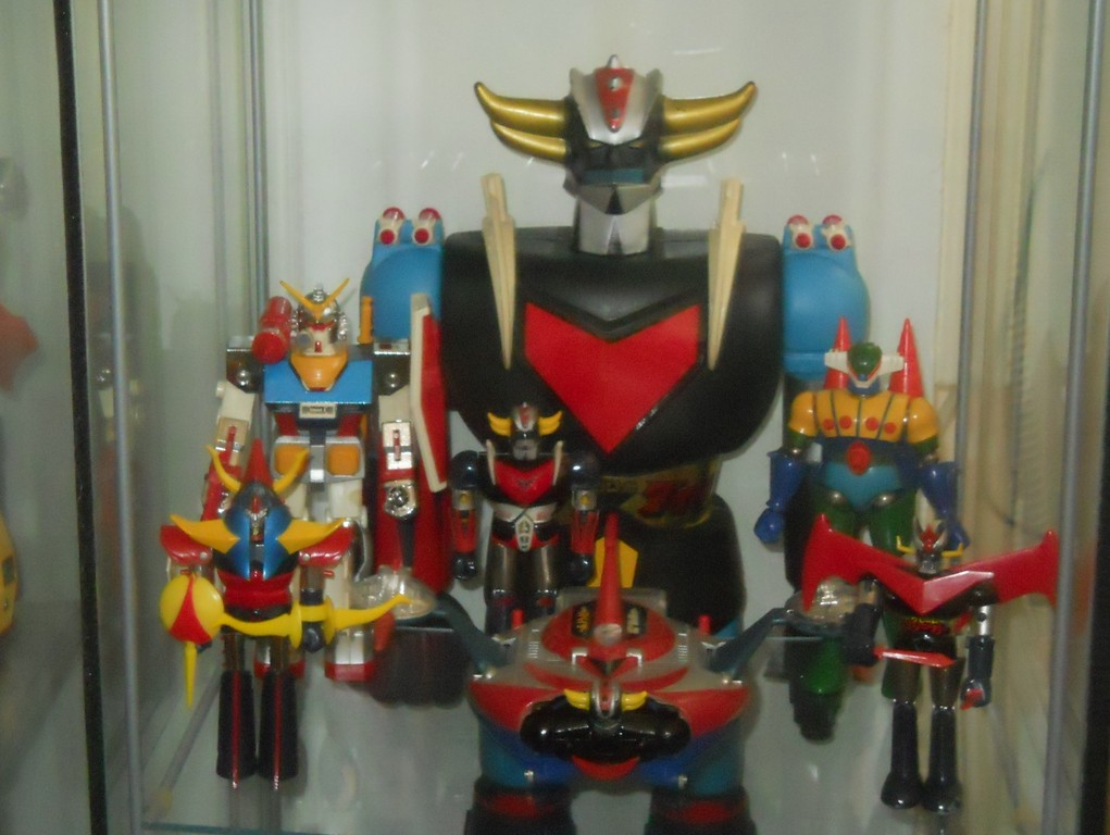 Raideen - Gundam - Jeeg 1° Vers. - Great Mazinger - Goldrake Dx & Soucer - Goldarake Jumbo