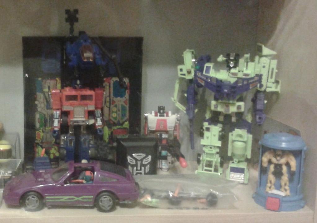 Transformers Devastator & Optimus Prime G2