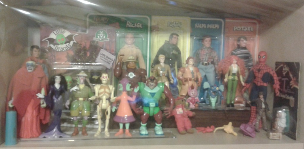 Filmation's Ghostbusters Figures & Mego
