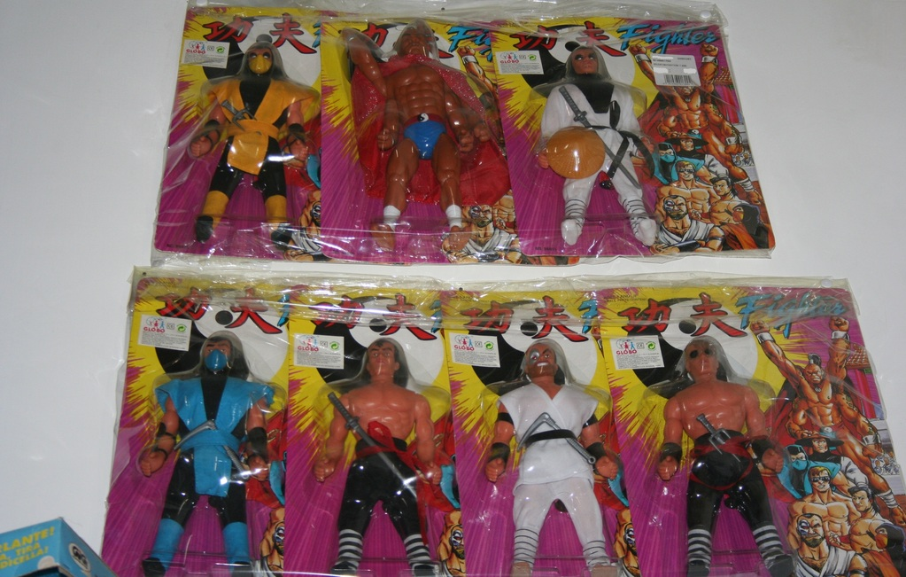 Kung Fu Fighters PACO 1990'S SET 7 A.F.