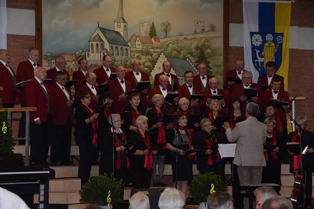 Gemischter Chor Laudenbach, Leitung Franz Berwind