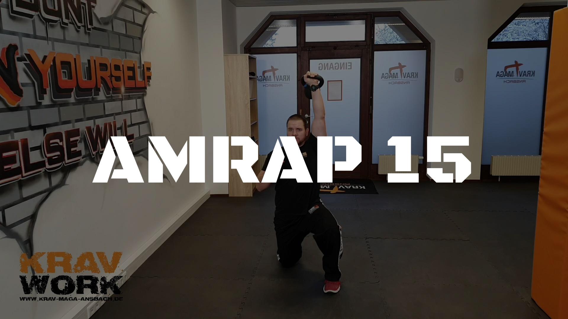 KRAV WORK | AMRAP 15