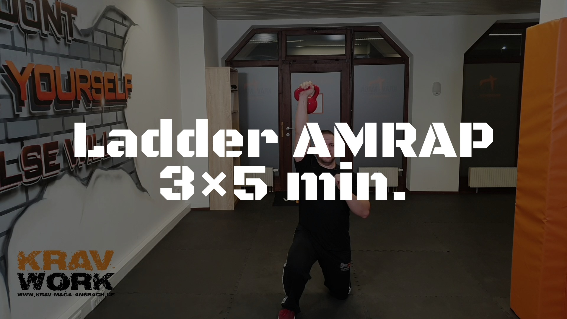 KRAV WORK | Ladder AMRAP 3×5 min.
