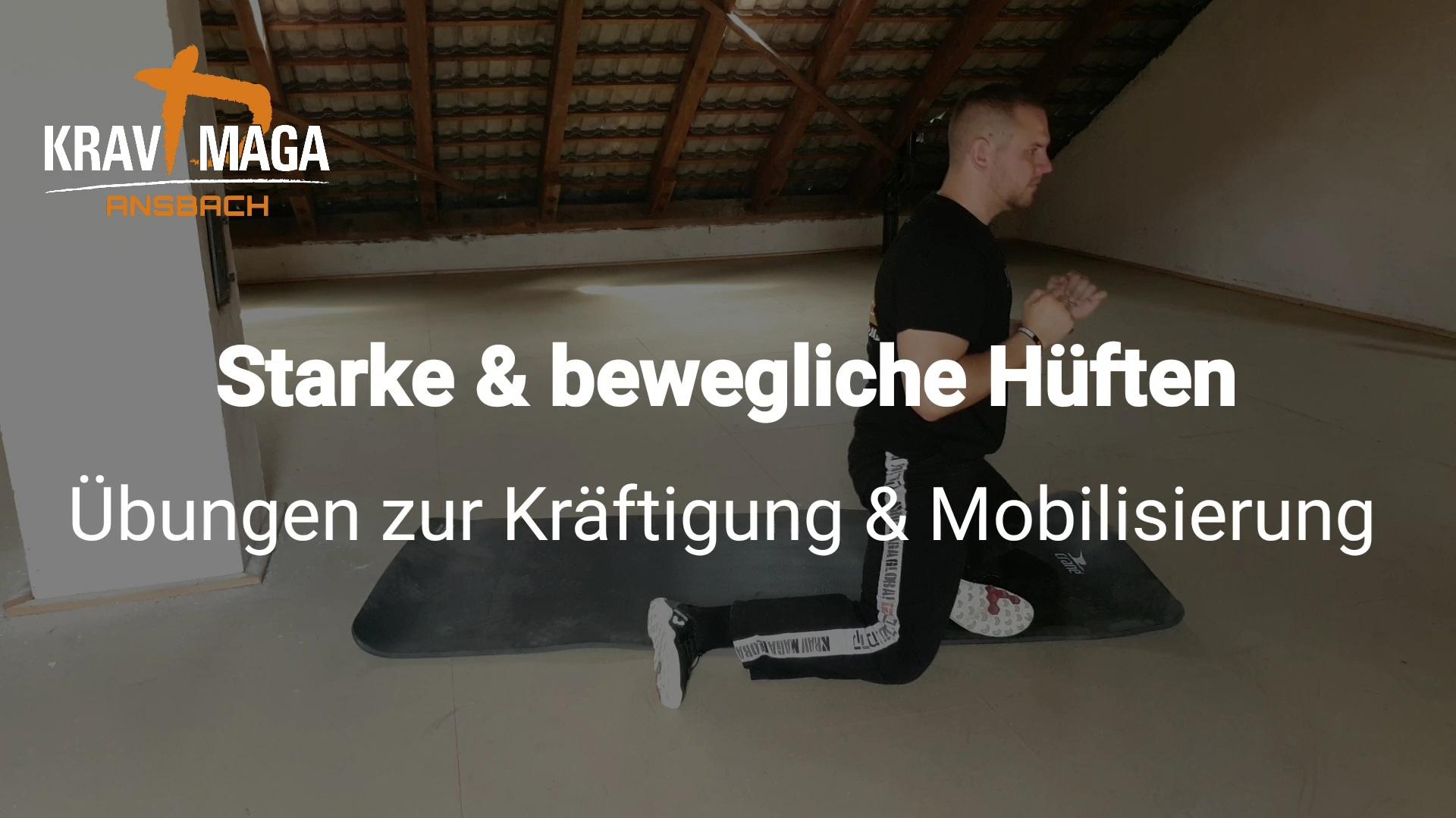 Starke & bewegliche Hüften - Übungen zur Kräftigung & Mobilisierung