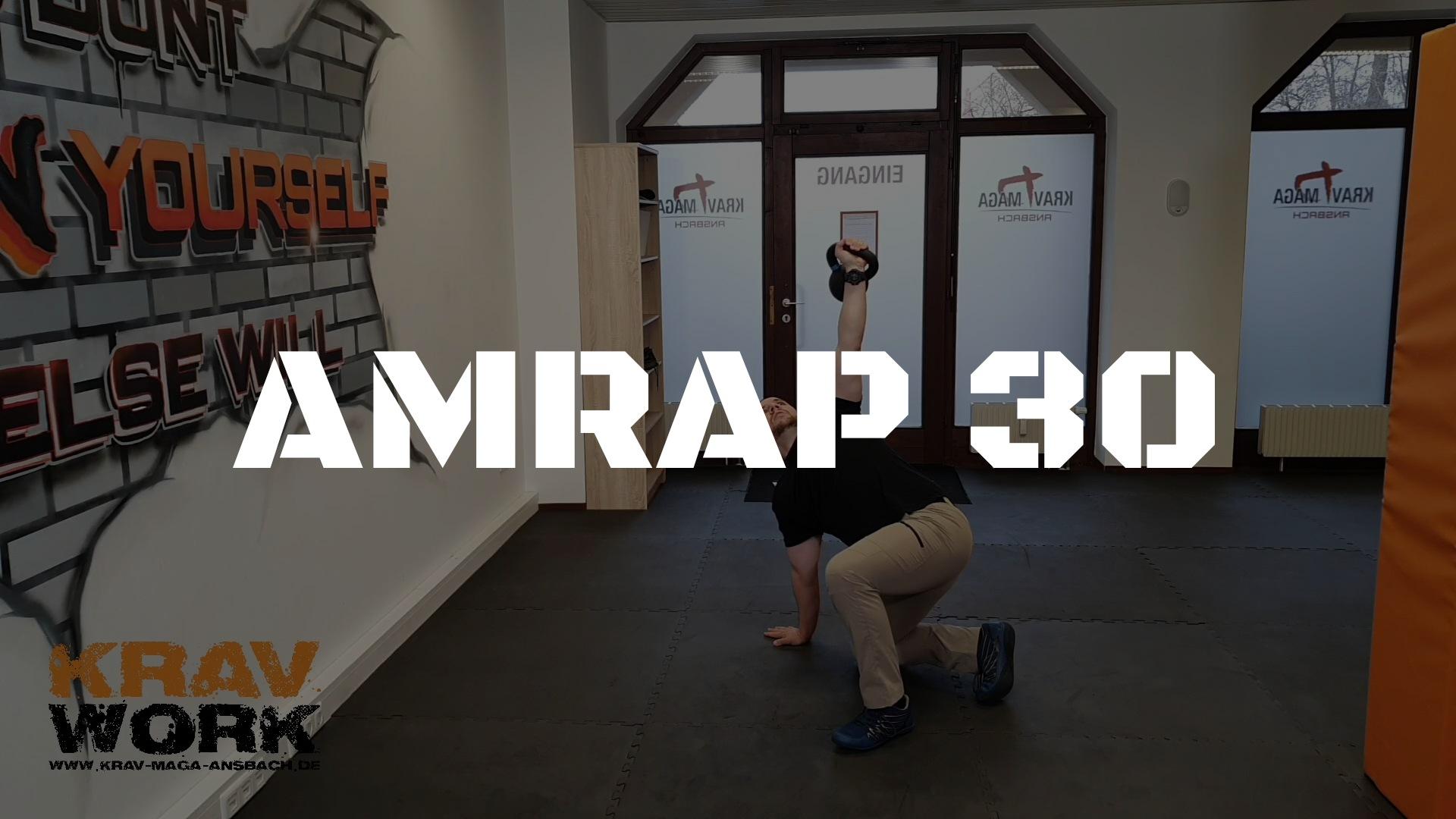 KRAV WORK | AMRAP 30