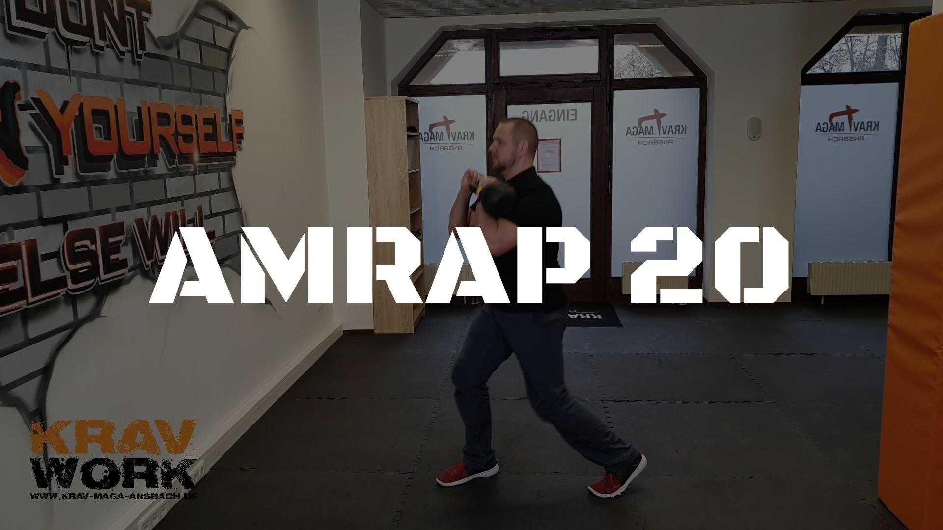 KRAV WORK | AMRAP 20