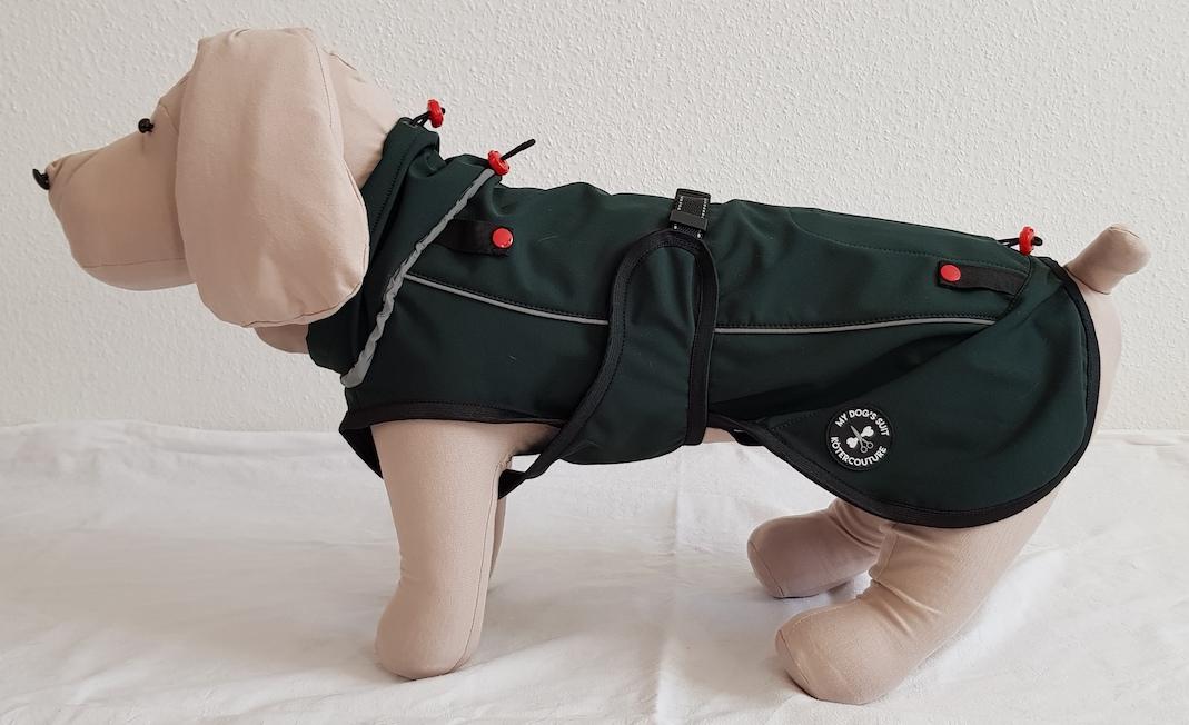 Hundejacke richtig anziehen in 7 Schritten