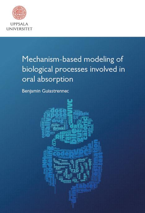 Mechanism-based modeling of biological processes involved in oral absorption