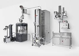 Photo of pharmaceutical machine with continuous manufacturing facilities included