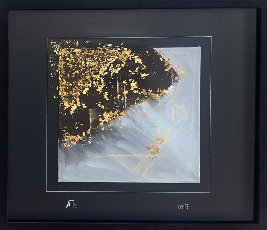 Der Himmel über Akkelon | 43 x 52 cm | Bildkassette