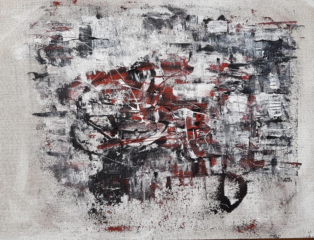 Die Schleife | 75 x 95 cm