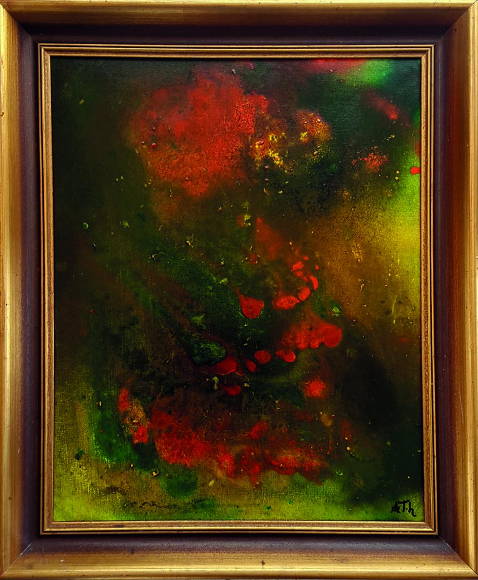 Der verborgene Wunsch | 47 x 56 cm | Holzrahmung
