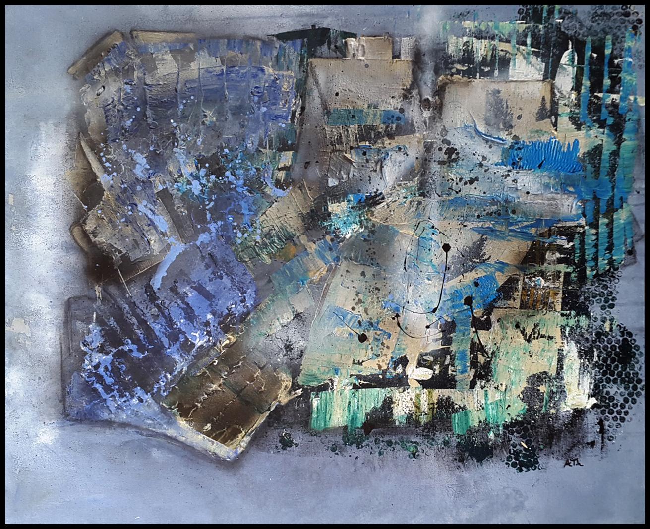 Wunderwelt | 80 x 100 cm | Holzrahmung