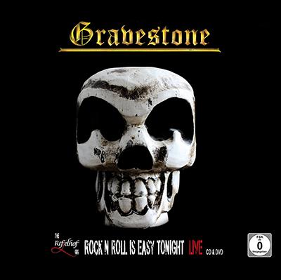 artblow - GEORG HIEBER - Gravestone - Riffelhof 2019 - Rock'n Roll is easy tonight