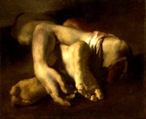 """Théodore Géricault, """"Studi di piedi e di mani"""", 1818-1819 (Montpellier, Musée Fabre)"""