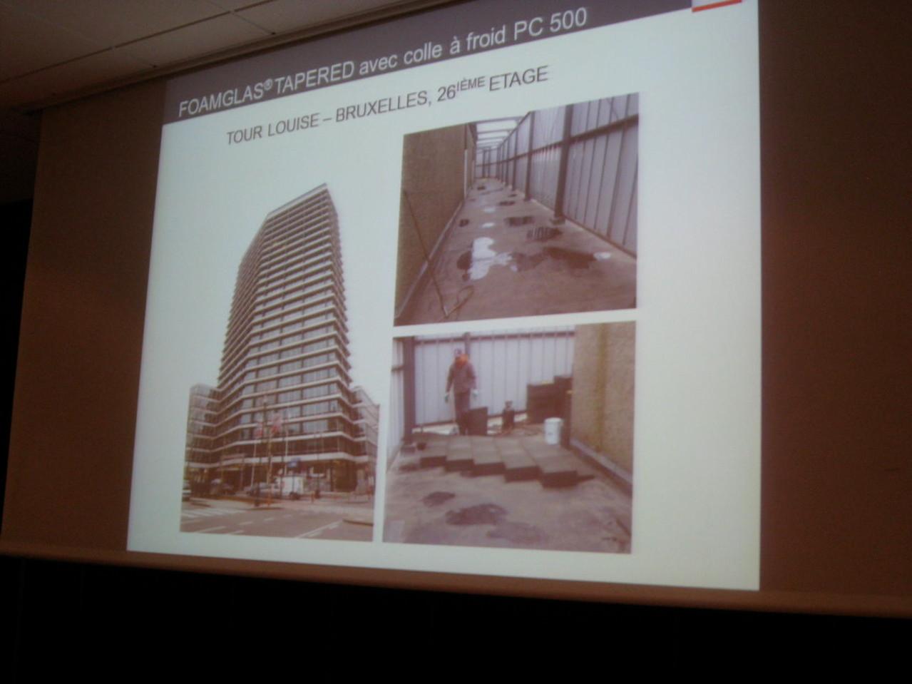 Rénovation de la Tour Louise à Bruxelles : état existant