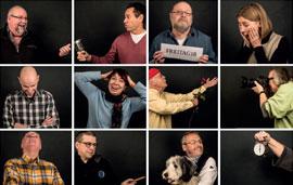 Das Freitag18 Team v.l.n.r.: Jörg Meiner, André Blitz, Jochen Venker, Wendy Godt, Detlev Terwesten, Brigitte Venker, Alfried Gutsche, Holger Rinne, Wolfgang Stöttwig, Frank Stiller, Thomas Haase