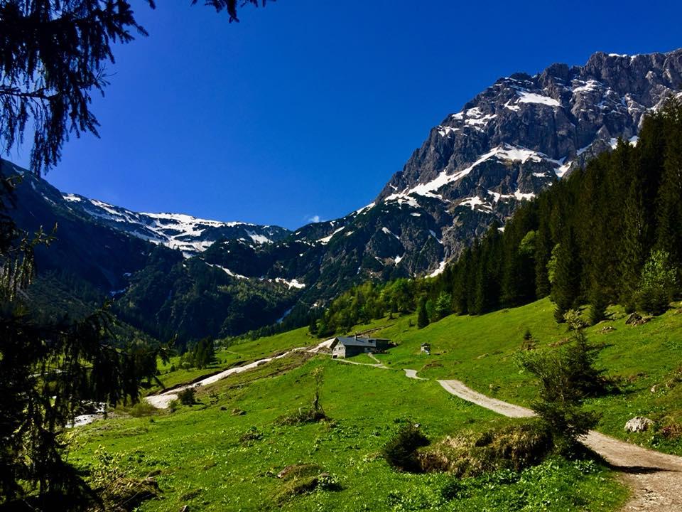 Gemstelalphütte Mittelberg Kleinwalsertal