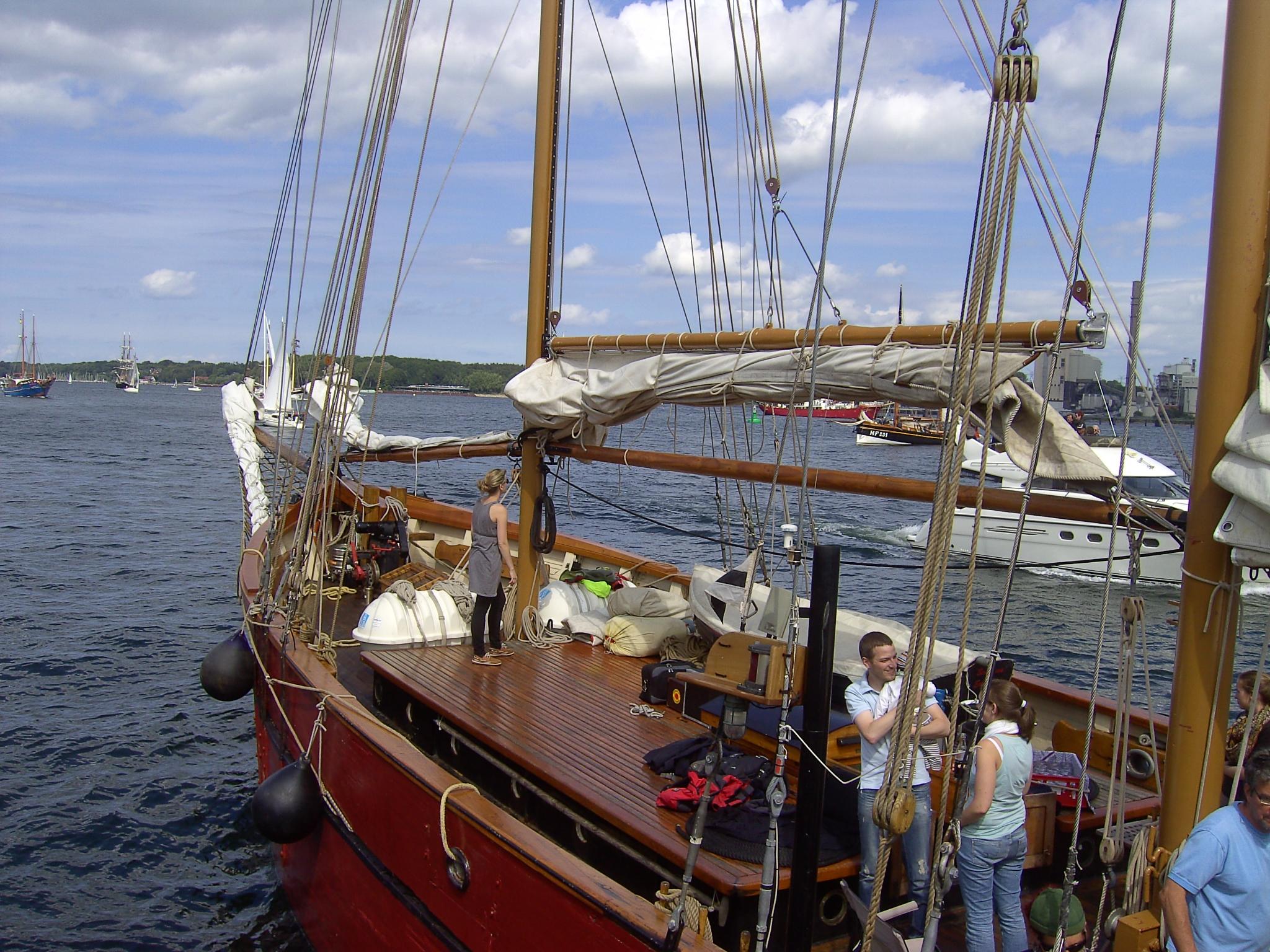 Zeilschip Ethel von Brixham