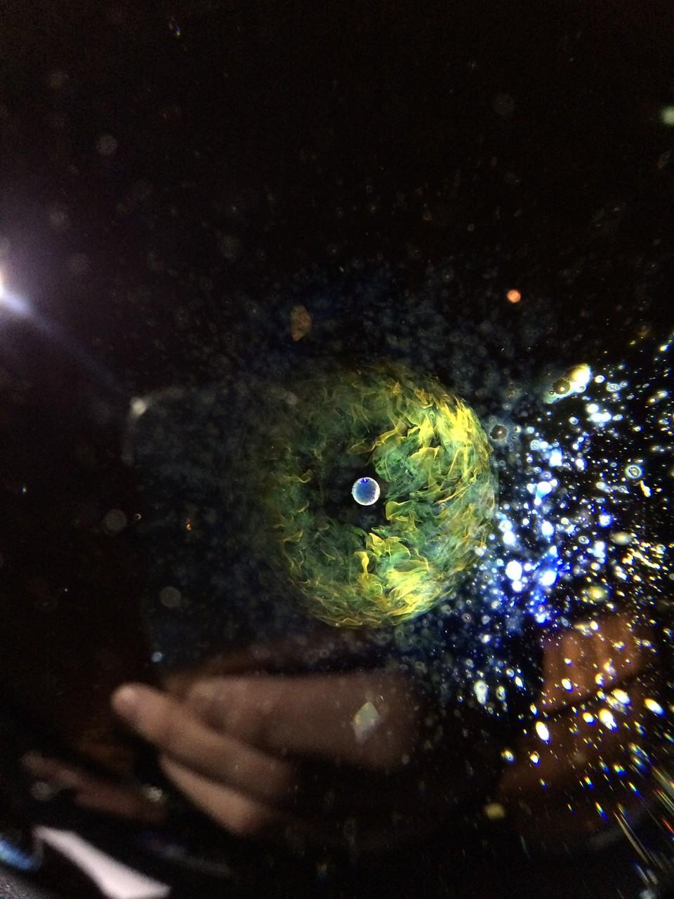 グループ展「BLUE」 (香山洋一《絵画》、小林愛枝《写真》、早川和明《ガラス》、丸山奈留美《陶芸》) @北野カルチュラルセンター 2013.11