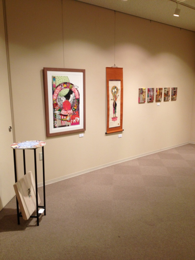 「N-ART展」@ガレリア表参道 2013.8