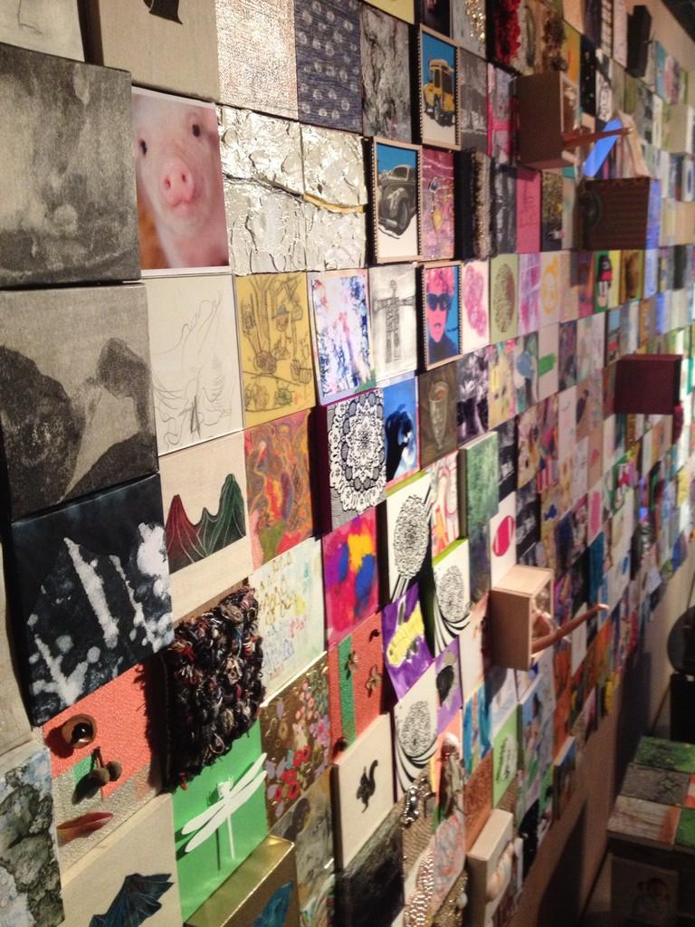 「nagano art file 2013 『10×10』」@artspace FLAT FILE