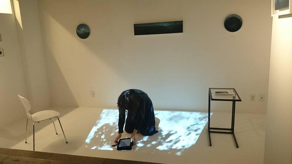 """""""中井霜仙「煎茶の薫アートへの誘い」と美術家 香山洋一の世界"""" @ノン・フィニート(オフィスArteOpus) 2015.1.23-25"""
