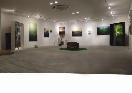 個展@Free Cloud(長野) 2007.8.6-8.18