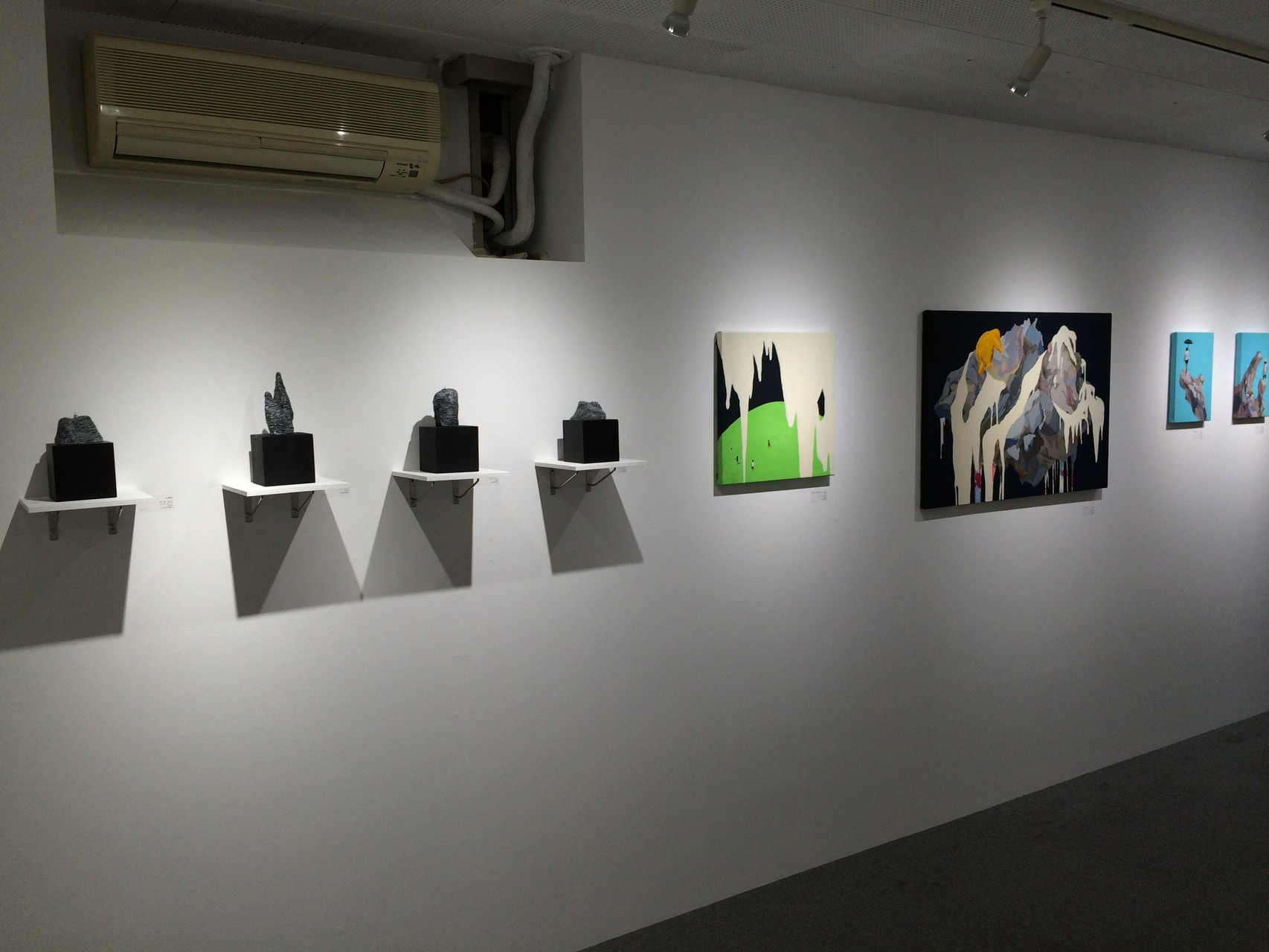 「ART SALON vol4」@JINEN GALLERY 2015.12.15-12.20