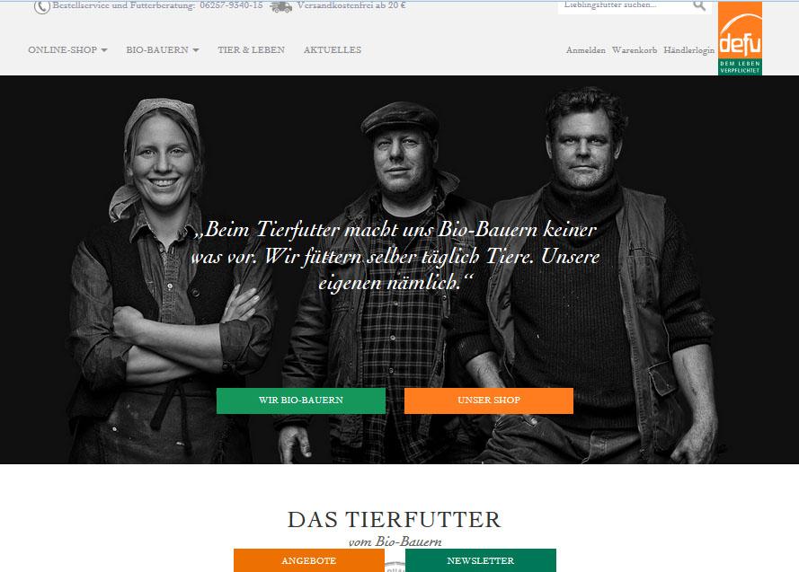 E-Shop von defu - Startseite