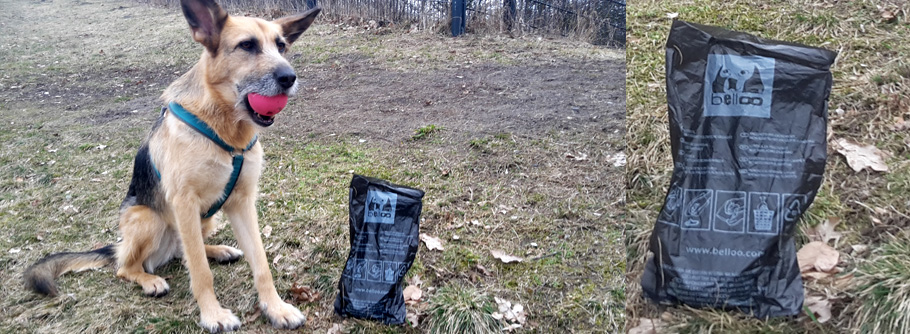 Hundekotbeutel aus Polyethylen