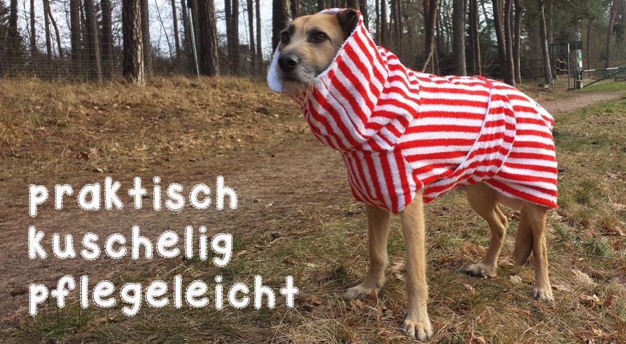 Hundebademantel von UNIQUE DOG - praktisch und pflegeleicht