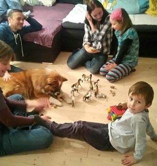 Elo und Kinder