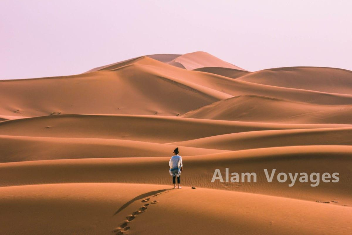 Une nuit dans le désert Tunisien