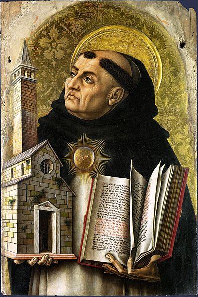 Thomas von Aquin (postumes Gemälde von Carlo Crivelli, 1476)