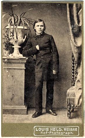 Nietzsche im Alter von 17 Jahren, 1861