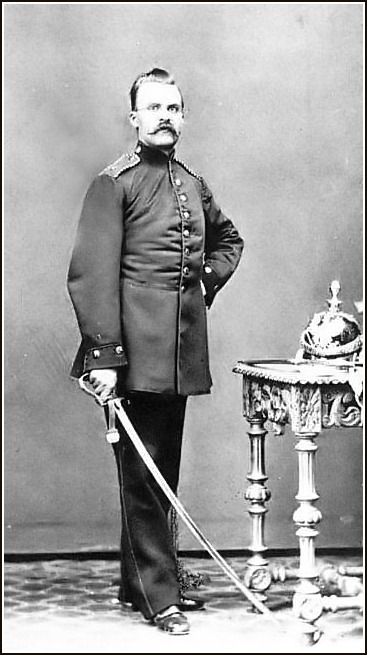 Nietzsche als Artillerist, 1868