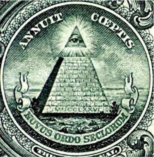 Das Auge Gottes ist bereits aus dem alten Ägypten bekannt und stand später auch für den jüdisch-christlichen Gott. Später wurde es vor allem im Umfeld der Deisten benutzt.