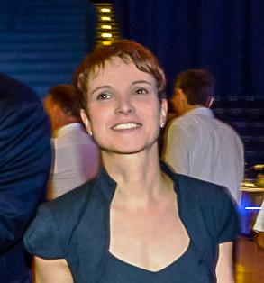 """Frauke Petry, eine Verfechterin der neuen konservativen Partei in Deutschland """"Alternative für Deutschland"""""""