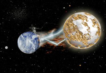 Nibiru macht etwas mit der Erde