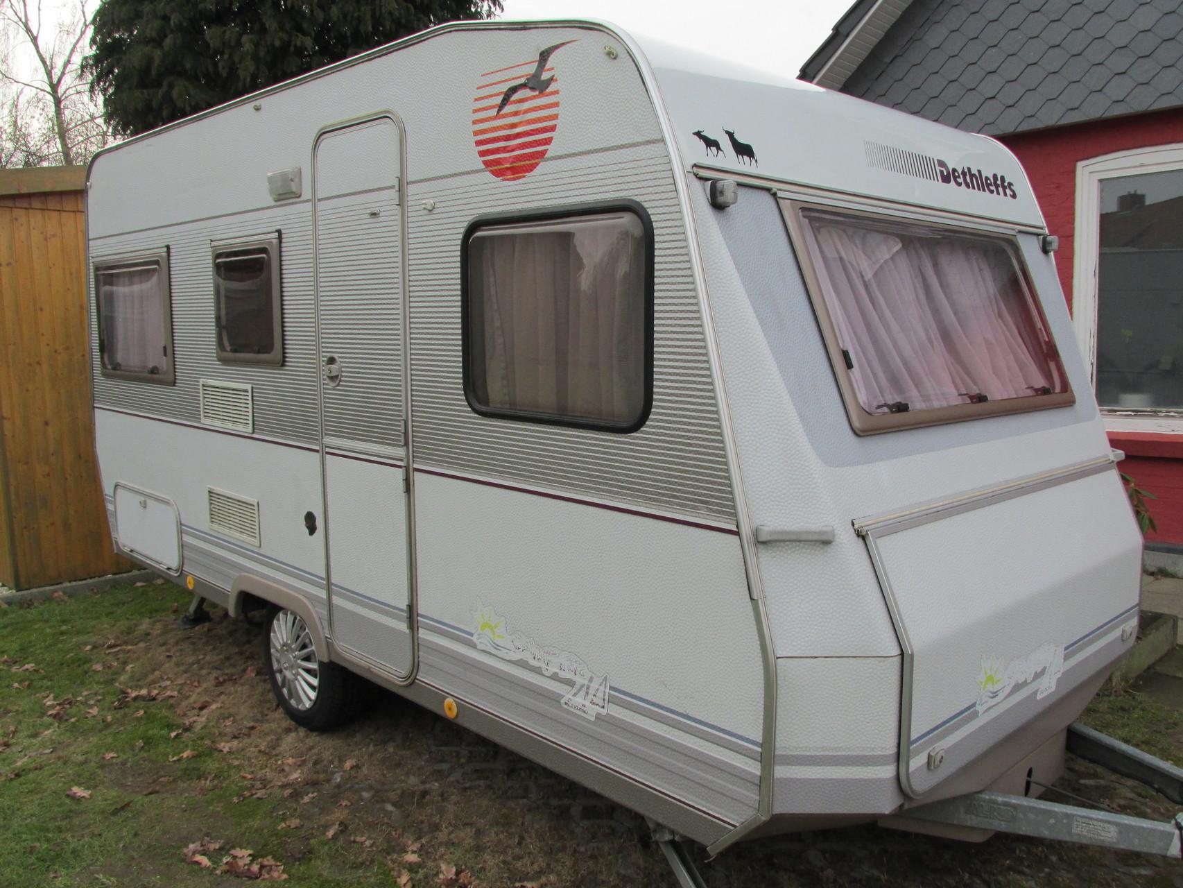 dethleffs camper 430 t camping vermietung. Black Bedroom Furniture Sets. Home Design Ideas