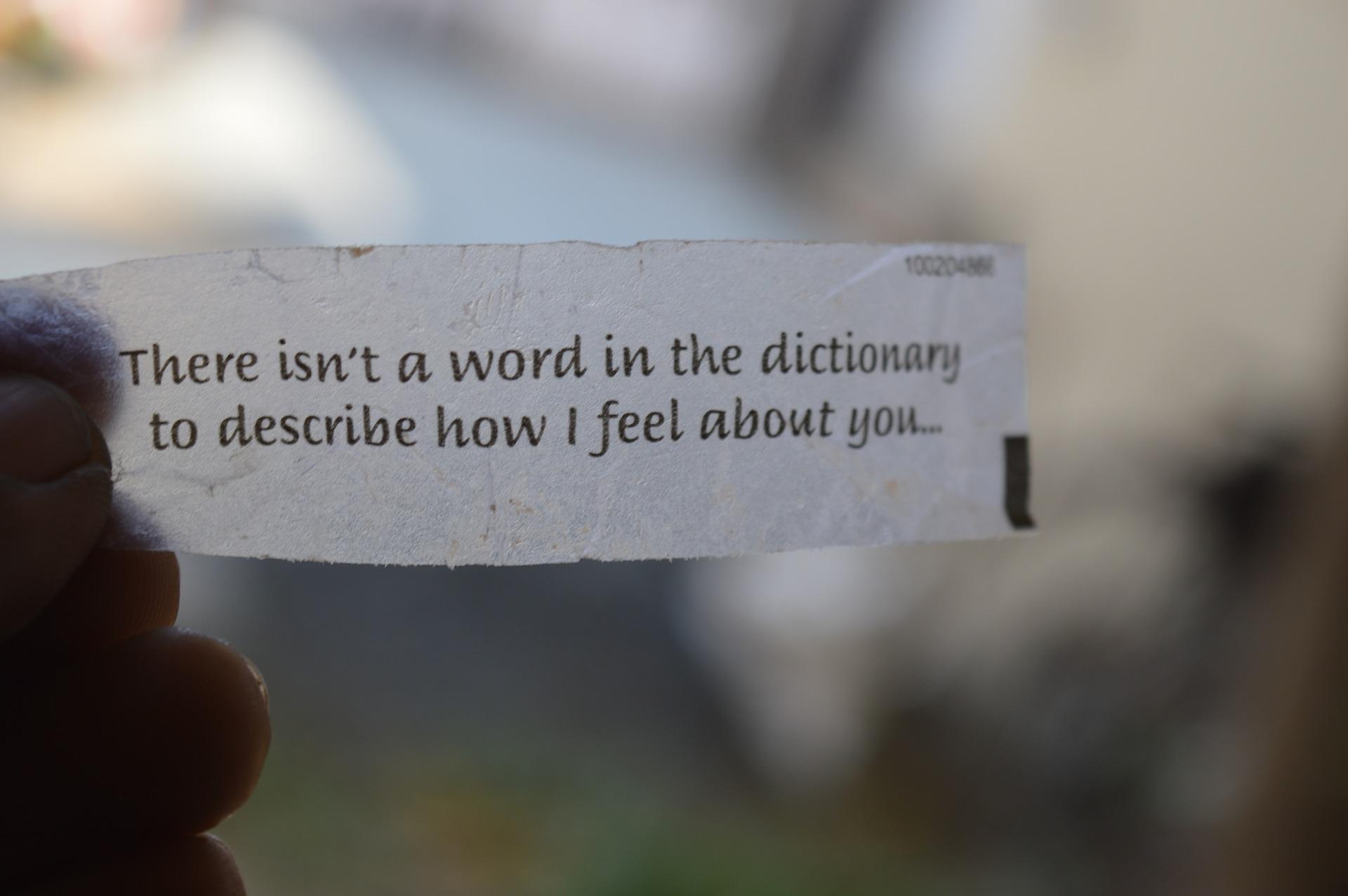 [Zoom sur] - La force des mots d'affection
