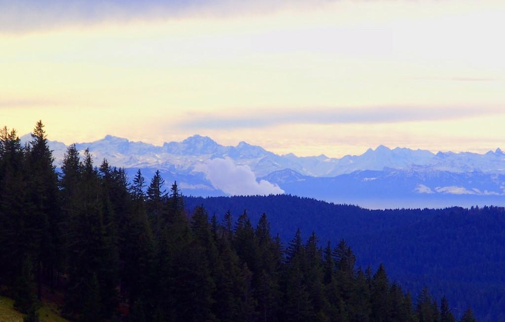 Vue des Alpes   © Hartmut Hermanns