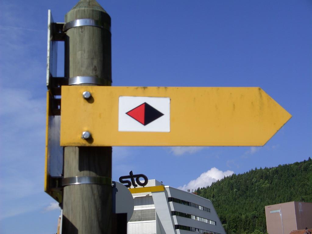Ostweg Pforzheim - Schaffhausen   © Hartmut Hermanns