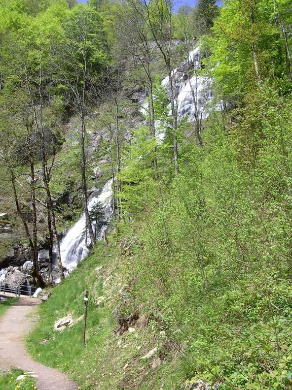 Der Todtnauer Wasserfall - Annäherung   © Hartmut Hermanns