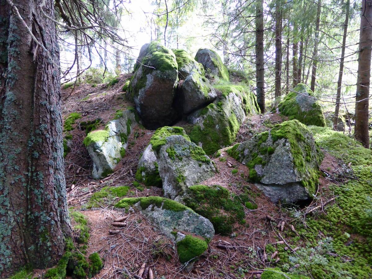 Steinensemble beim Weidberg © Hartmut Hermanns