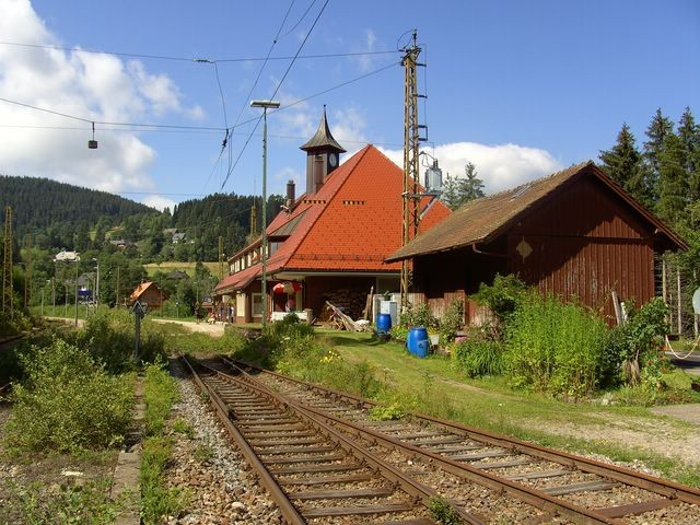 Bahnhof Bärental  © Hartmut Hermanns