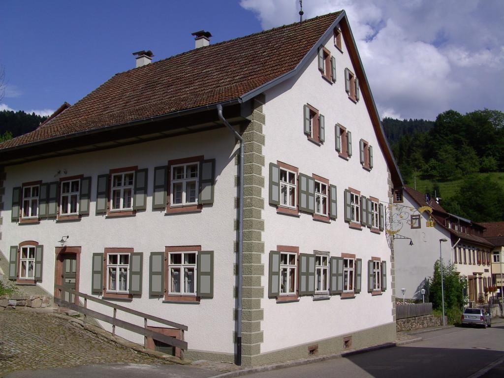 Historisches Gasthaus Krone in Tegernau   © Hartmut Hermanns