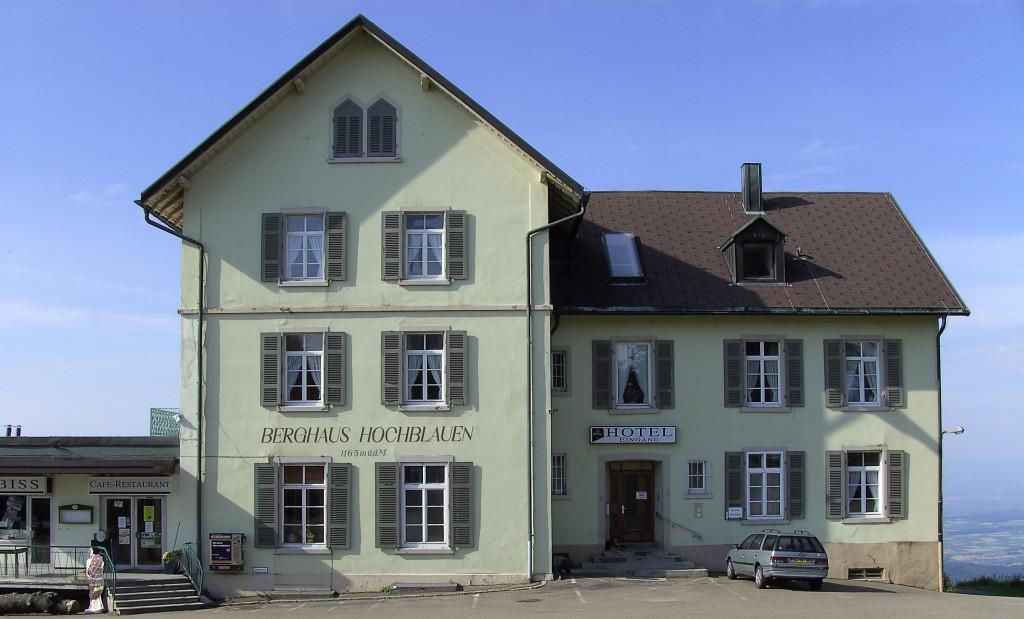 Berggasthaus Blauen   © Hartmut Hermanns